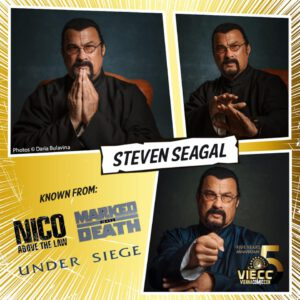 Steven seagal VIECC Vienna Comic Con
