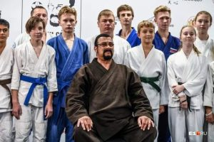 Steven Seagal at All Russian Aikido Festival